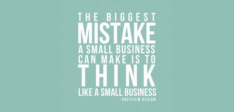 Think Like A Big Business