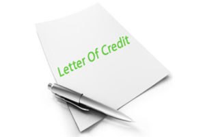 Letter of Credit for Financing