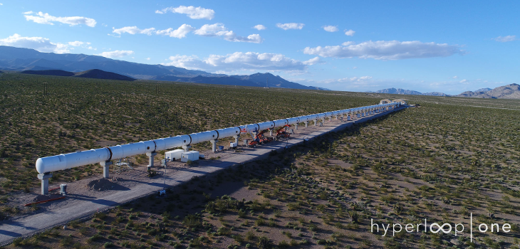 Hyperloop One Financing Emergin Technologies